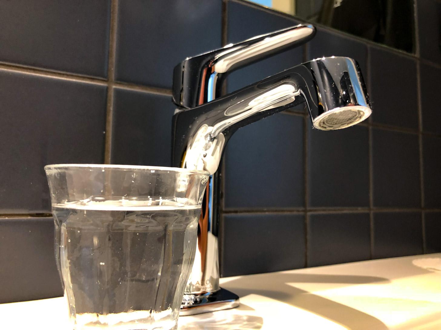 Drinkwater uit de kraan